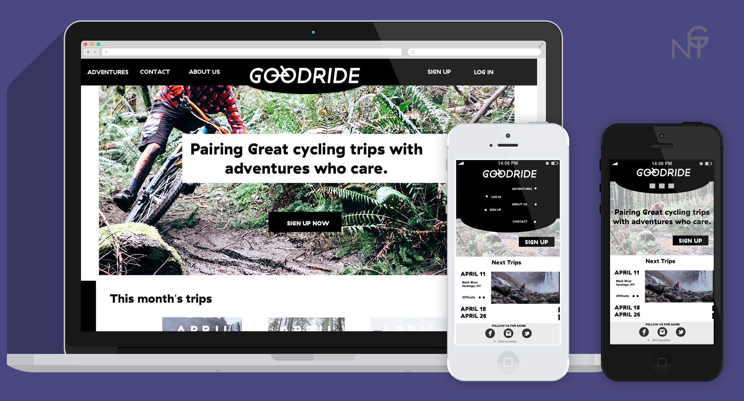 GoodRide - +Mobile, +UI, +Desktop