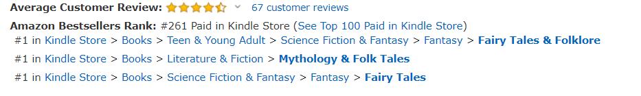 Bestseller across the charts