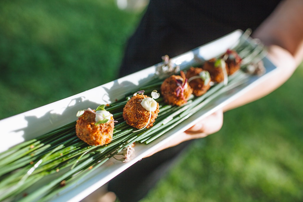 Maine Crab Cakes with Old Bay Aioli  © Leah Fisher Arsenault