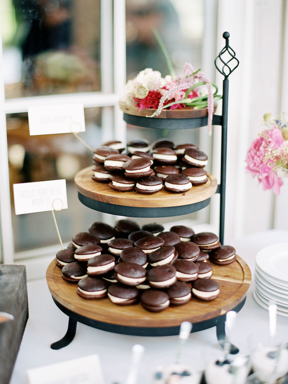 Chocolate Peanut Butter Whoopies   © Sarah Der Photography