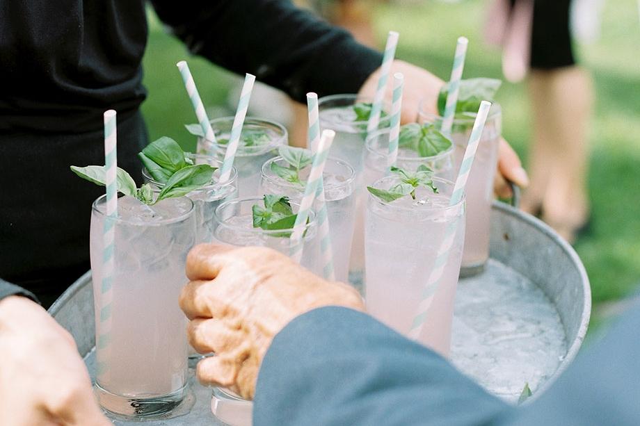 Basil Lemonade ©Sarah Der Photography