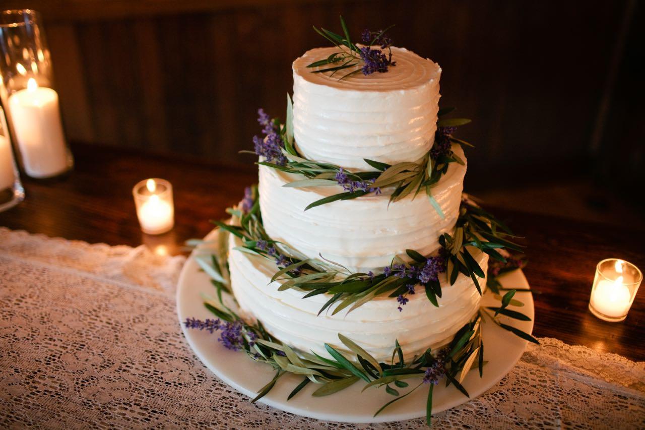 Buttermilk Cake with Raspberry and Swiss Meringue Buttercream  | Trillium Caterers