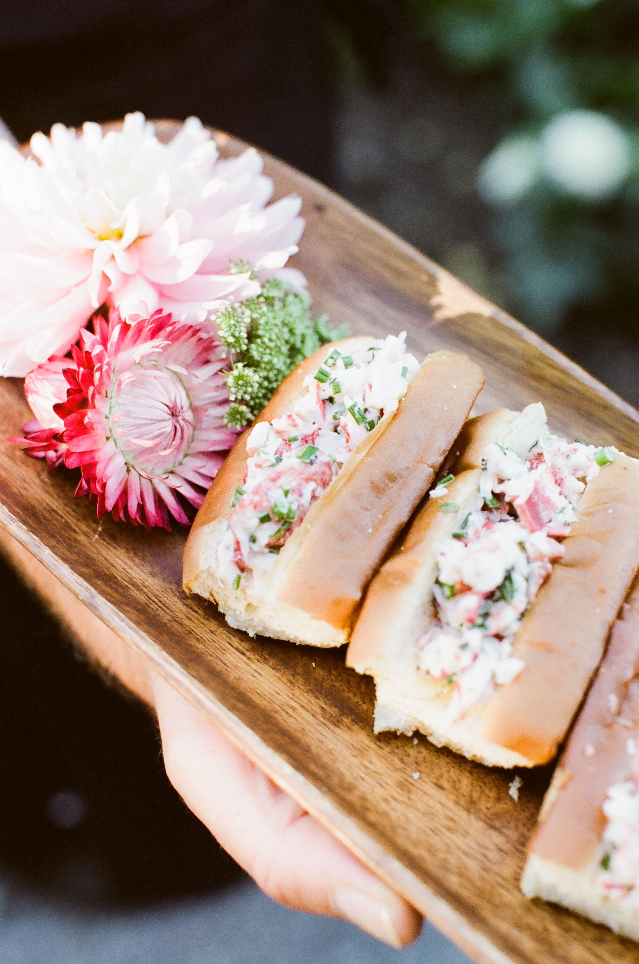 Lobster Rolls with Tarragon and Lemon | Trillium Caterers