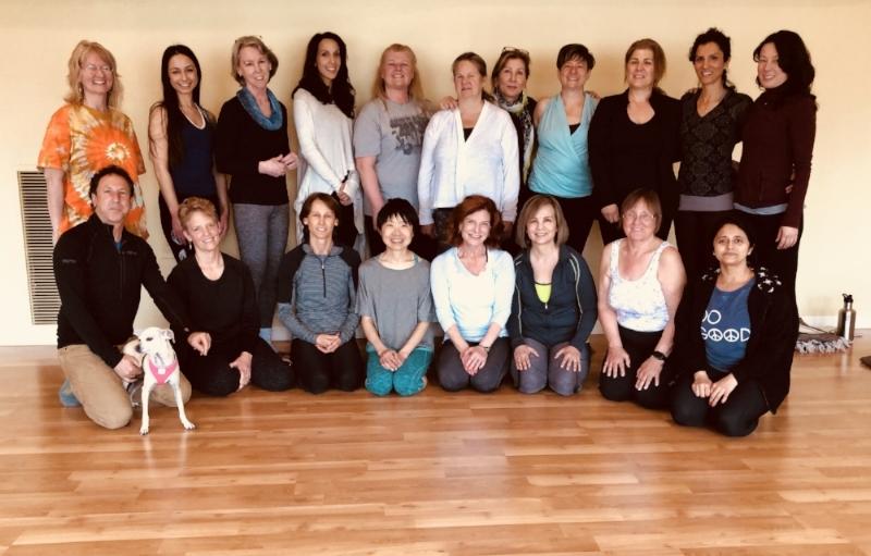 Yin Yoga Integration & Teacher Training Class of 2018