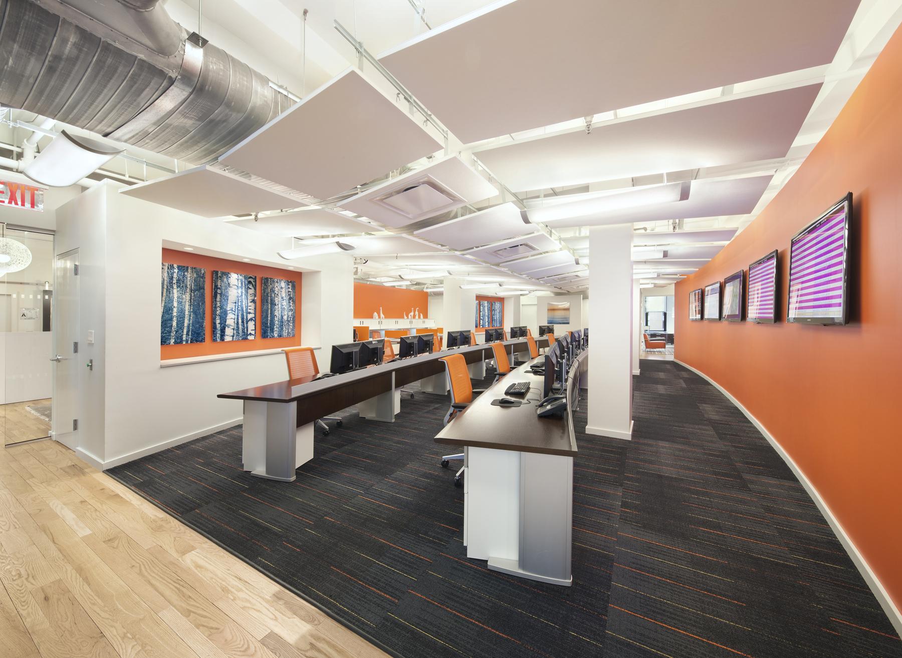 Tobin Parnes Design. NYC. Workplace Design.