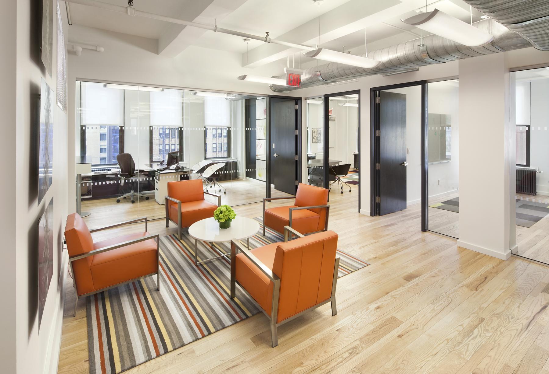 Tobin Parnes Design. NYC. Workplace Design. Office Design. Meeting Space Design