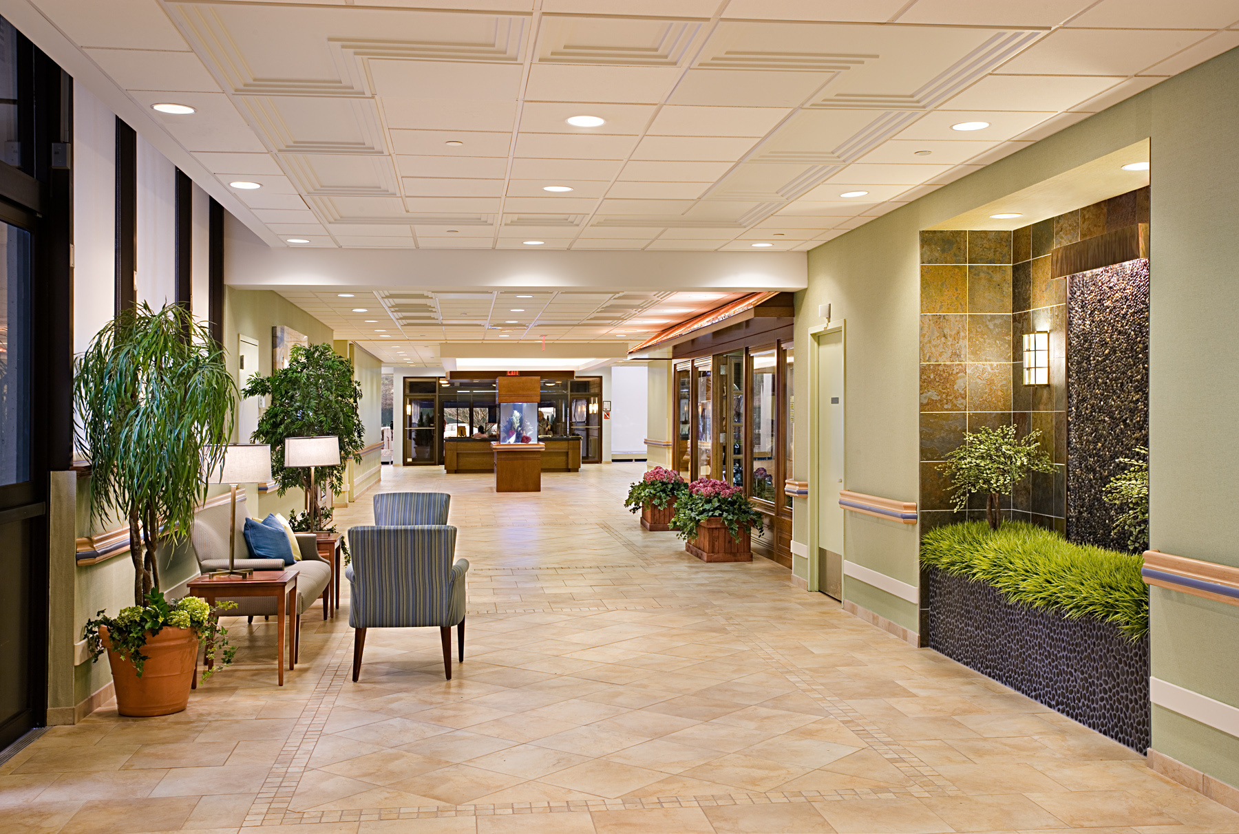 Parker Jewish Institute Lobby And