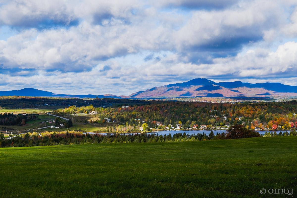 View of Ste-Catherine-de-Hatley - Un autre point de vue paysage OLNEY Photographe Sherbrooke