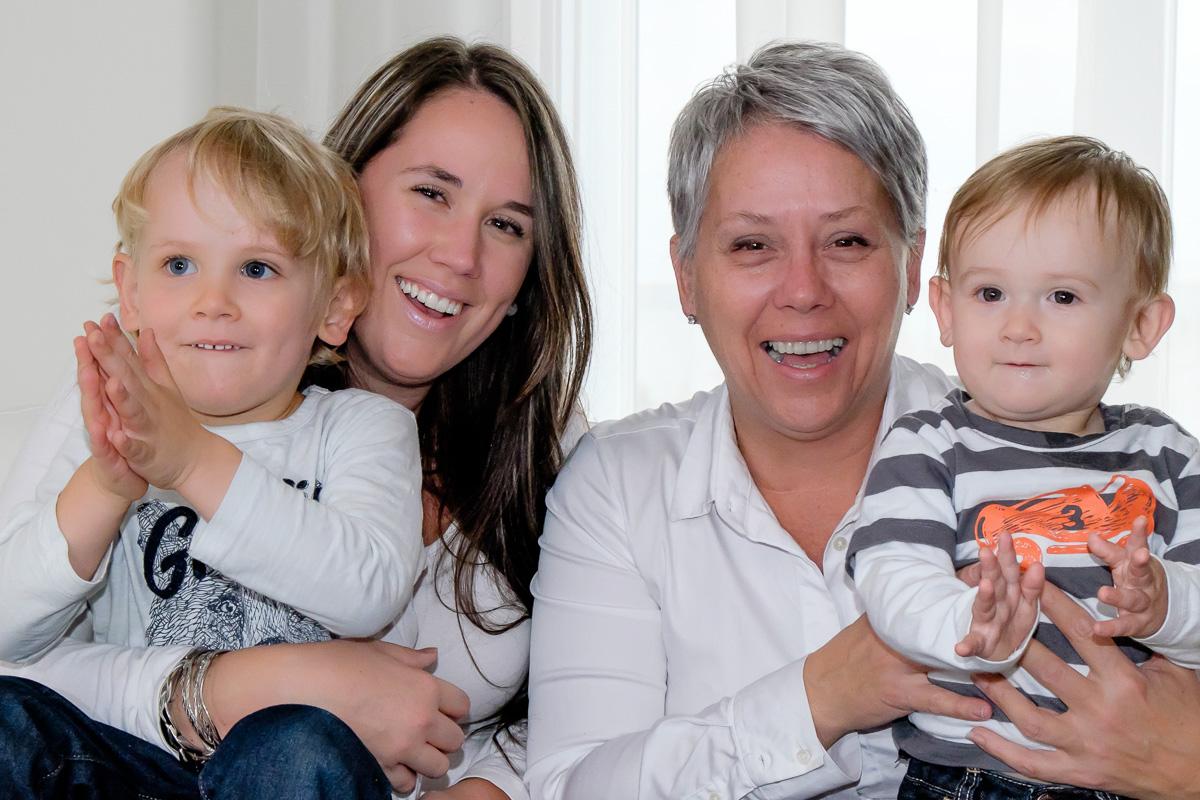 Trois générations portrait OLNEY Photographe Sherbrooke