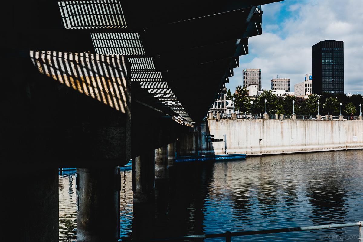 Pont dans le port de Montréal en Classic Chrome OLNEY Photographe Sherbrooke