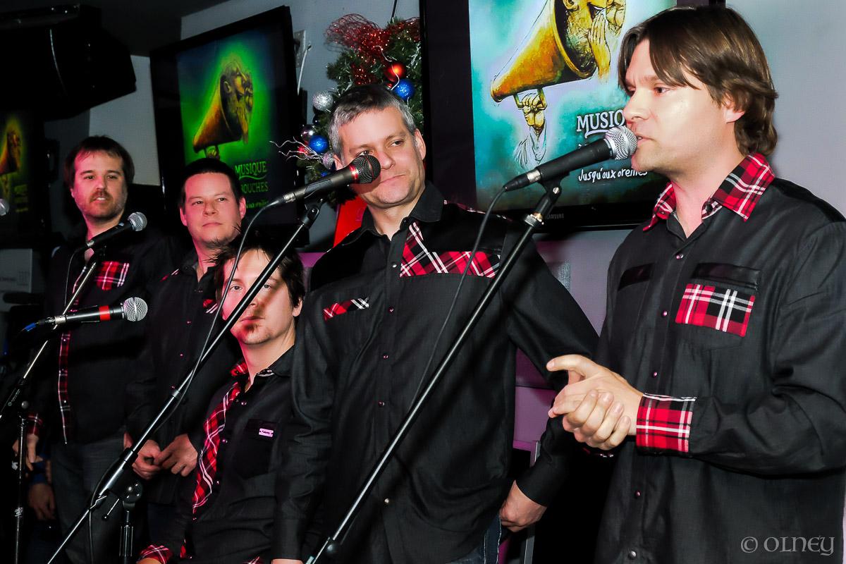 Le groupe Musique à Bouches en couleurs OLNEY Photographe Sherbrooke