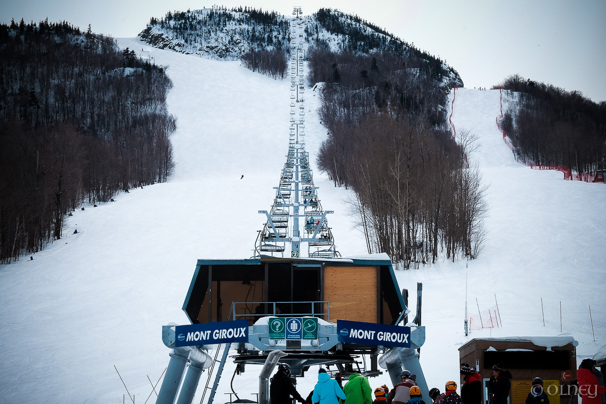 Mont Giroux's chairlift at Orford QC olney photographe sherbrooke