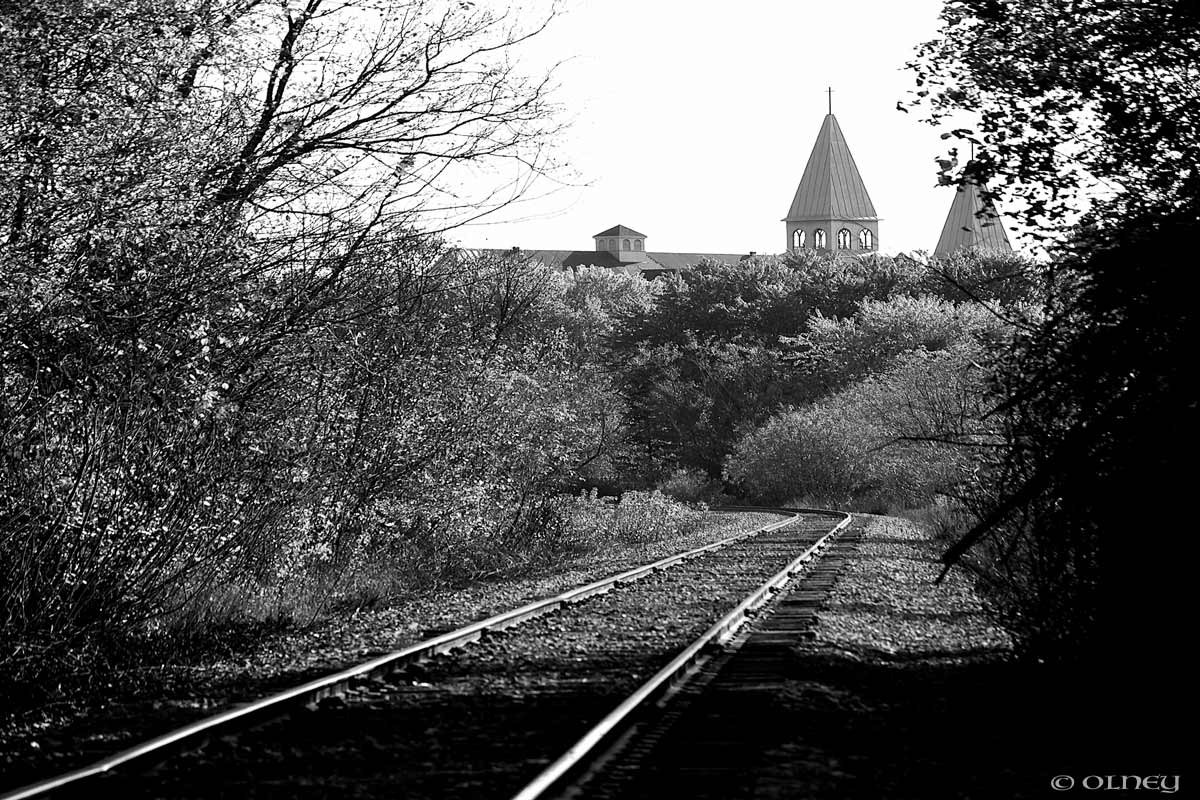 Railway tracks in Brompton OLNEY Photographe Sherbrooke