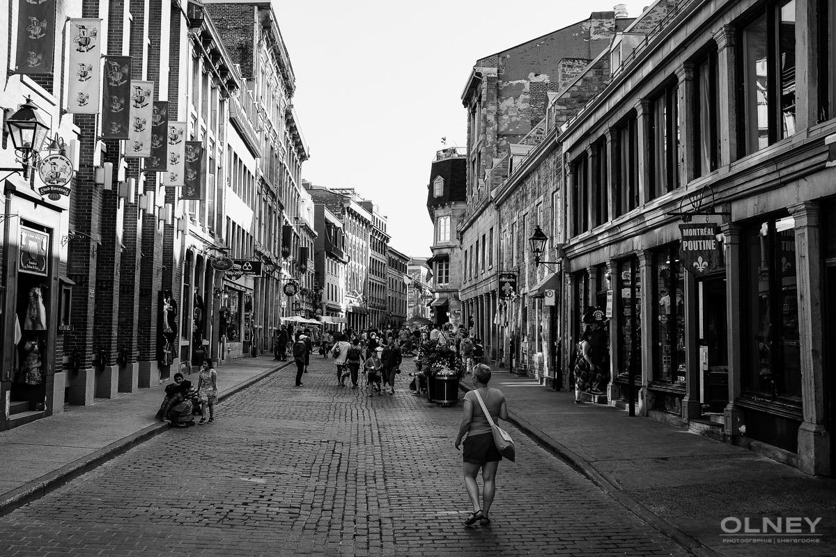 Rue St-Paul montreal street photography olney photographe sherbrooke