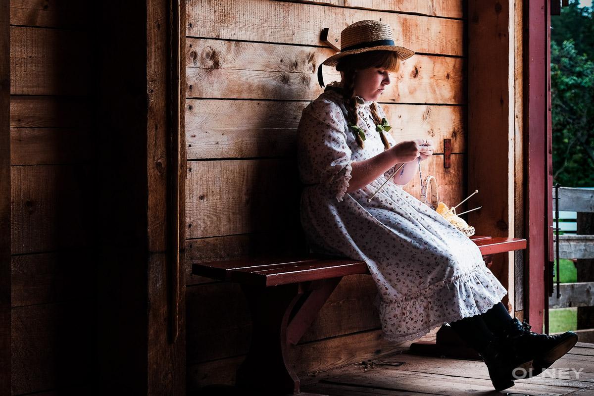Ann of Green Gables impersonater olney photographe sherbrooke