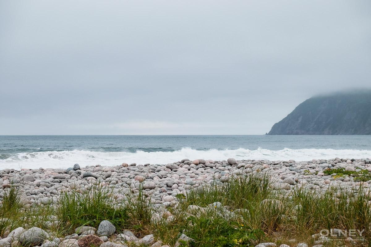 Ingonish beach Nova Scotia in the mist olney photographe sherbrooke