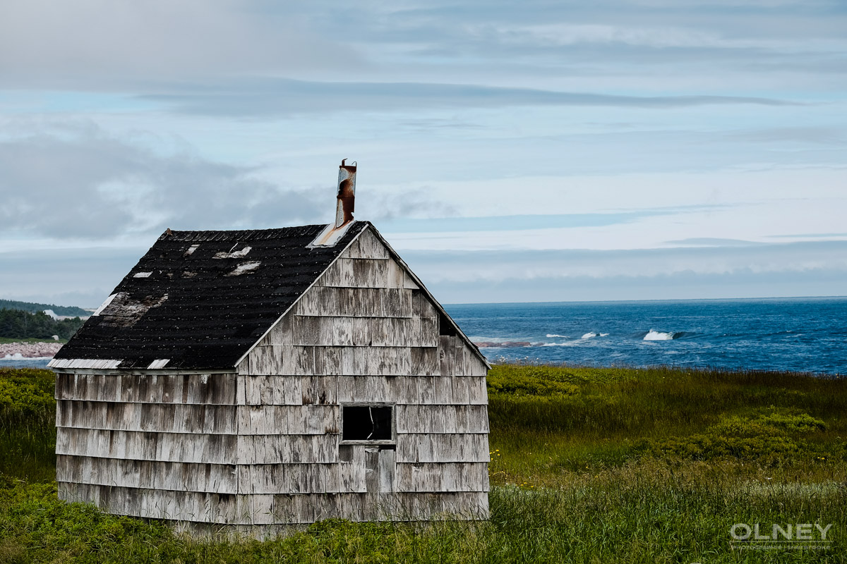 Shed on Cabot Trail olney photographe sherbrooke