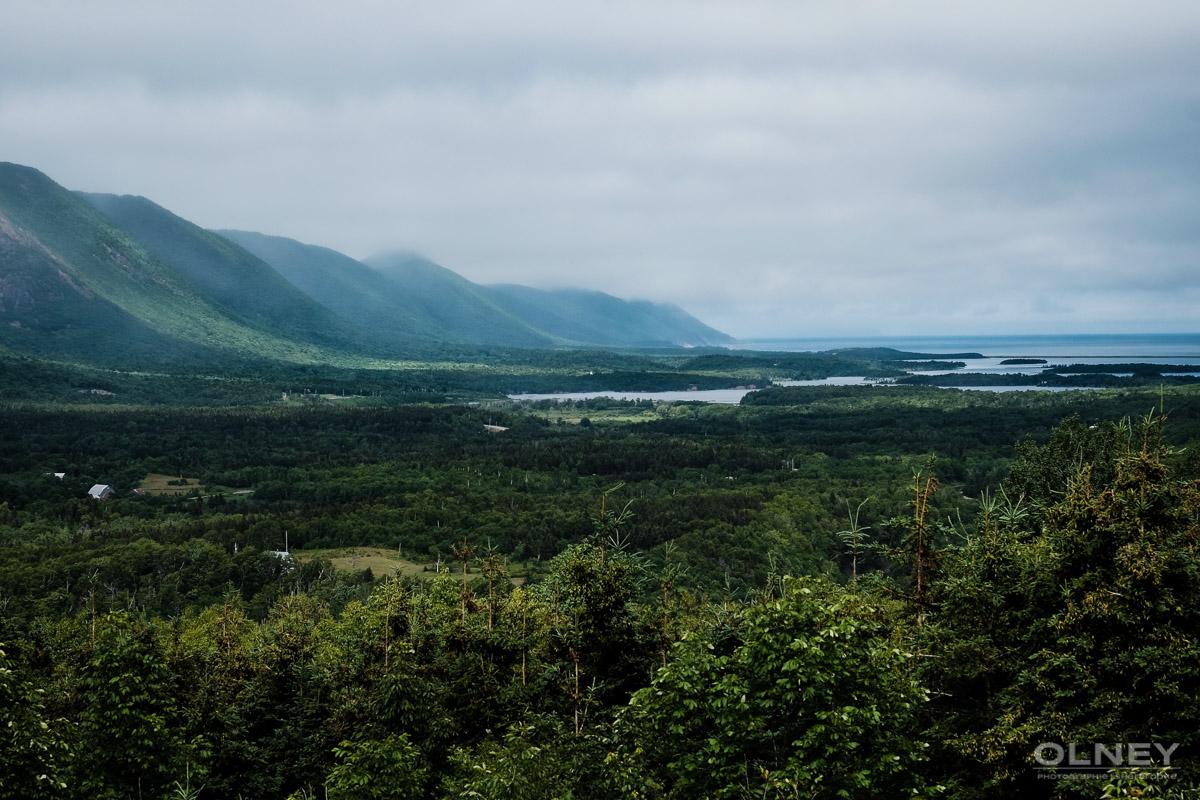 Beautiful vista on Cabot Trail olney photographe sherbrooke
