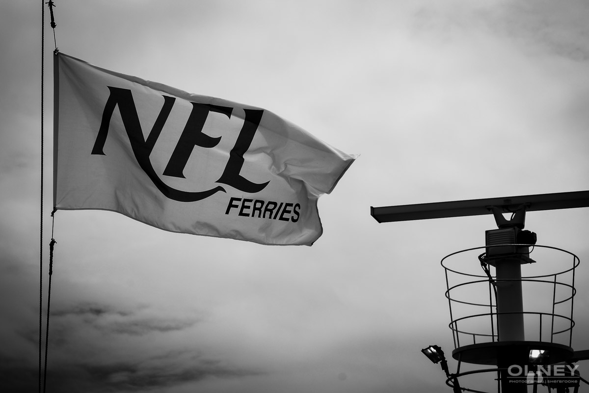 Northumberland Ferry black and white olney photographe sherbrooke