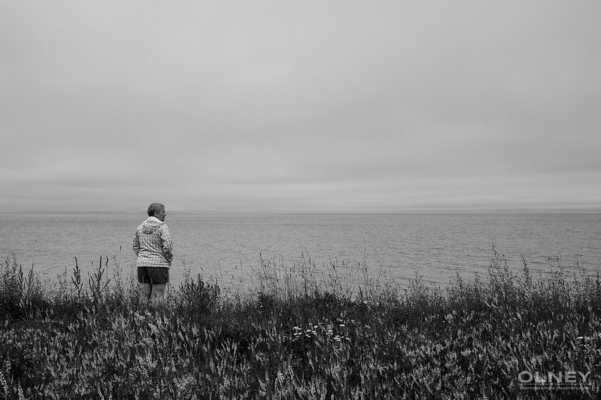 Lac Bras D'Or on Cap Breton, Nova Scotia black and white olney photographe sherbrooke