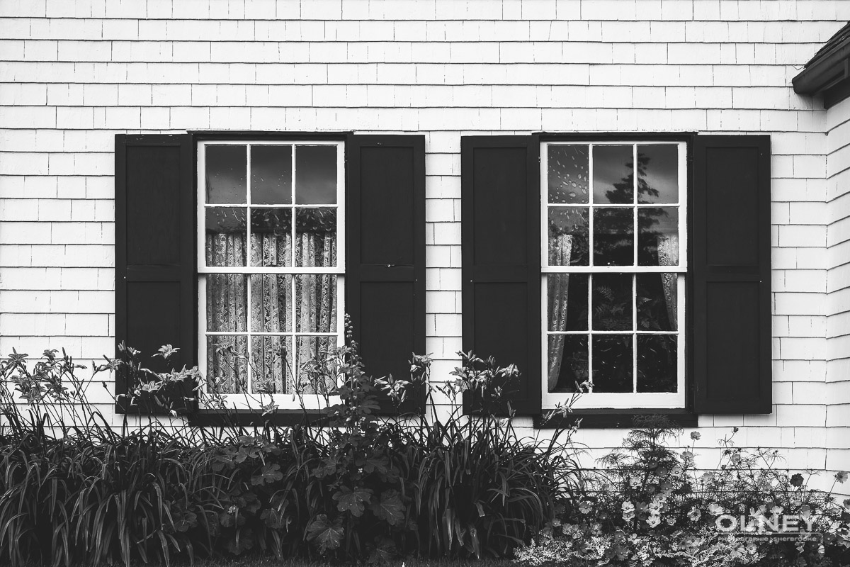 Green Gables House black and white olney photographe sherbrooke