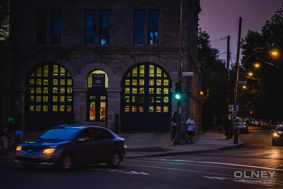 Old fire station on Rachel street Montreal OLNEY photographe Sherbrooke