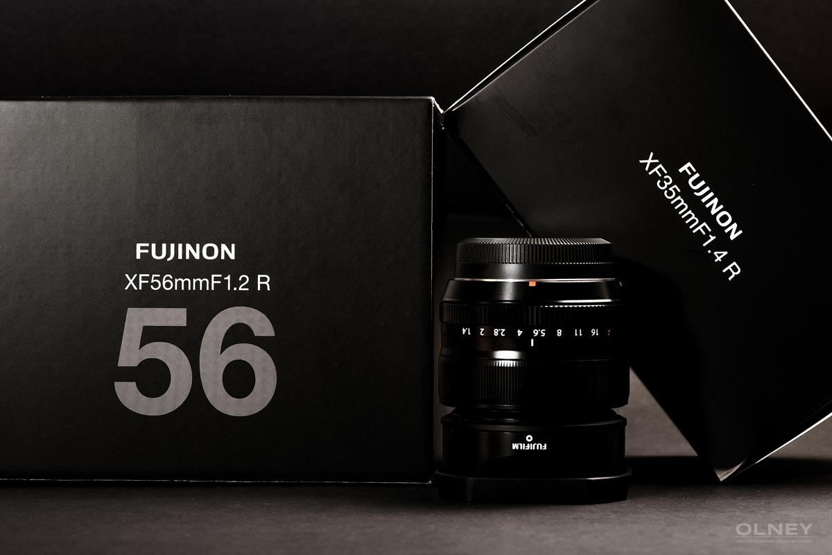 Fujinon boxes and XF 35mm F1.4 R