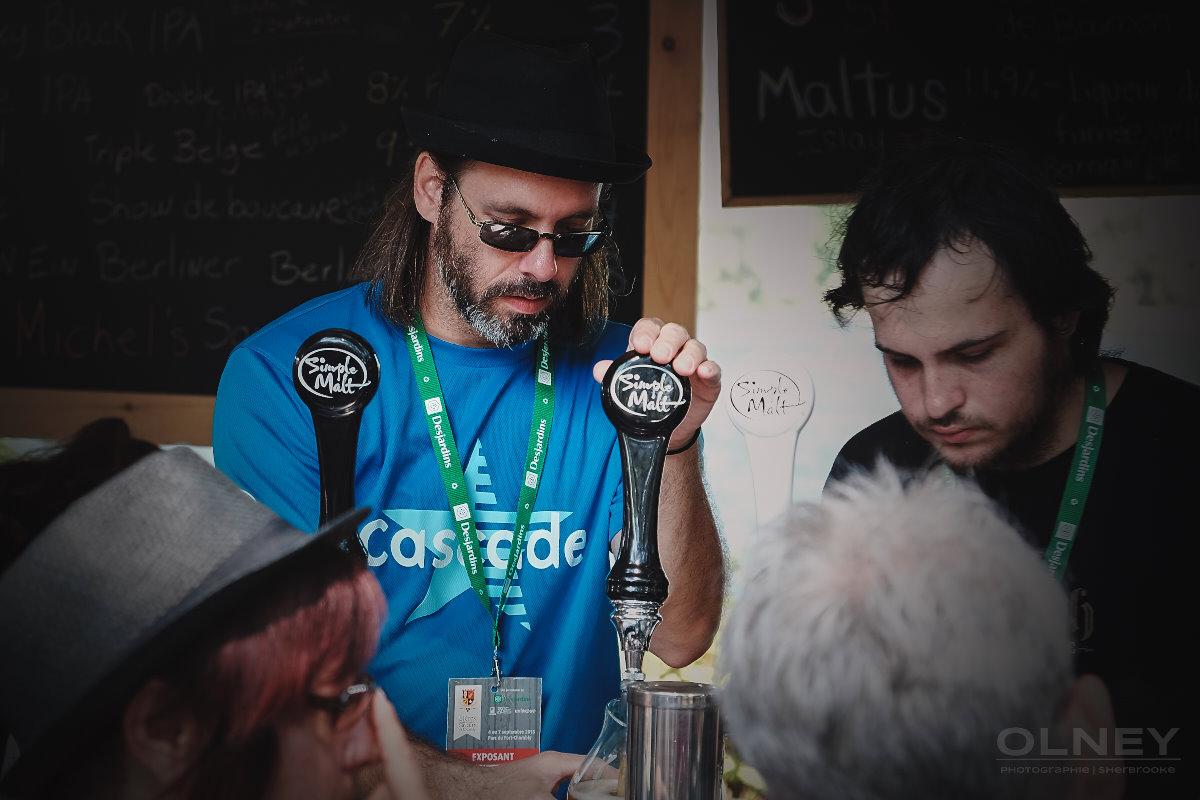 Bartender at Saveurs et Bières de Chambly