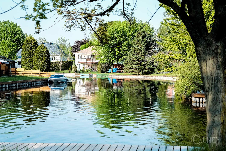 An aquatic avenue in St-Zotique