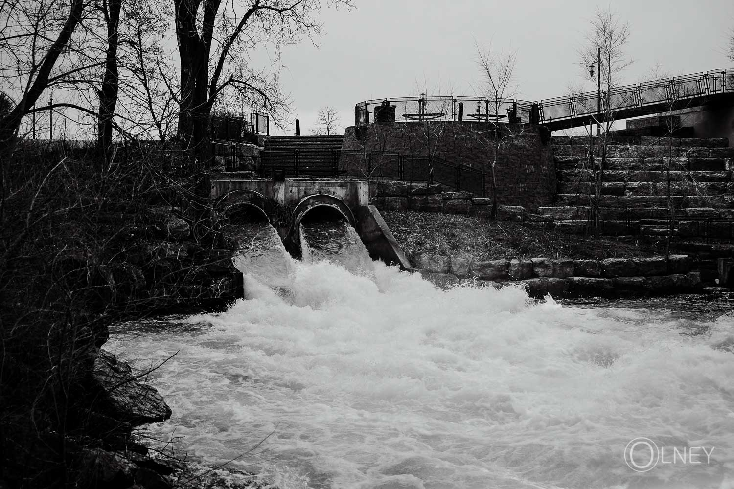 whitewater in Valleyfield