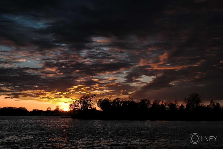 Sunset on bay St-François