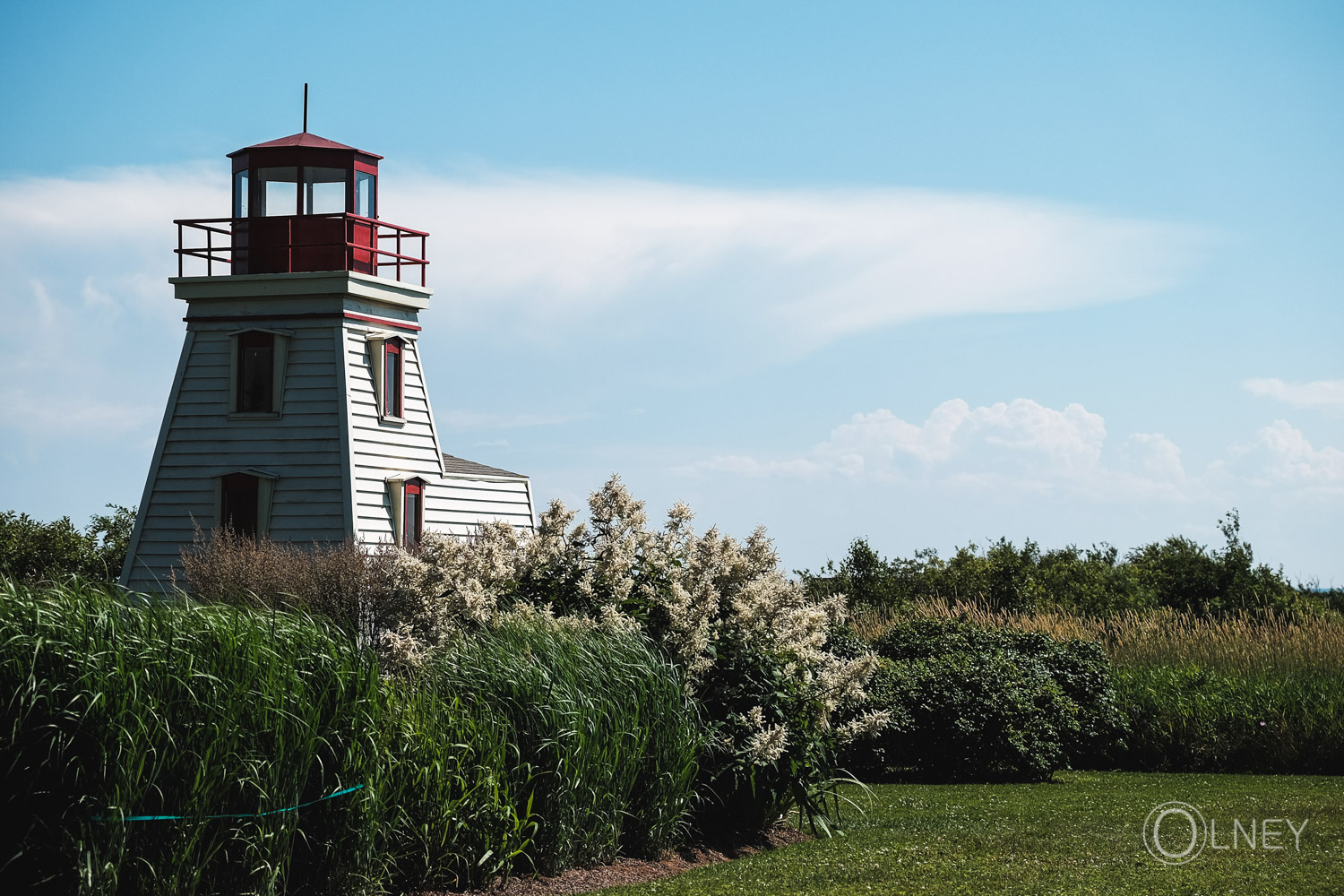 Lighthouse in Cap-Egmont Prince Edward Island