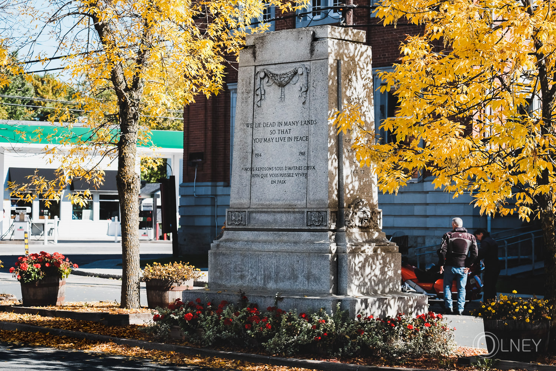 monument à Danville cantons de l'est
