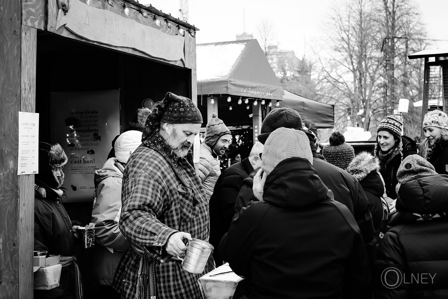 Maple syrup carnaval québec city