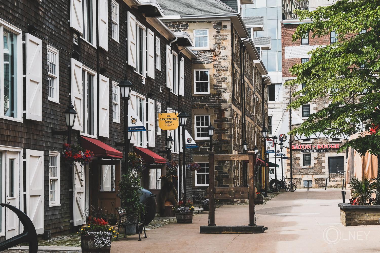 old street in Halifax