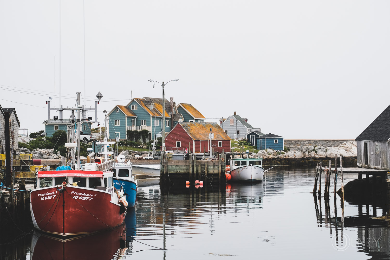 boats in peggy's cove nova scotia