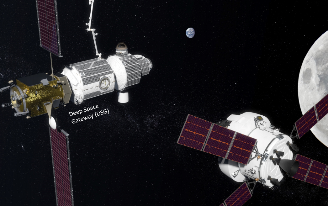Deep Space Gateway (DSG) and Orion