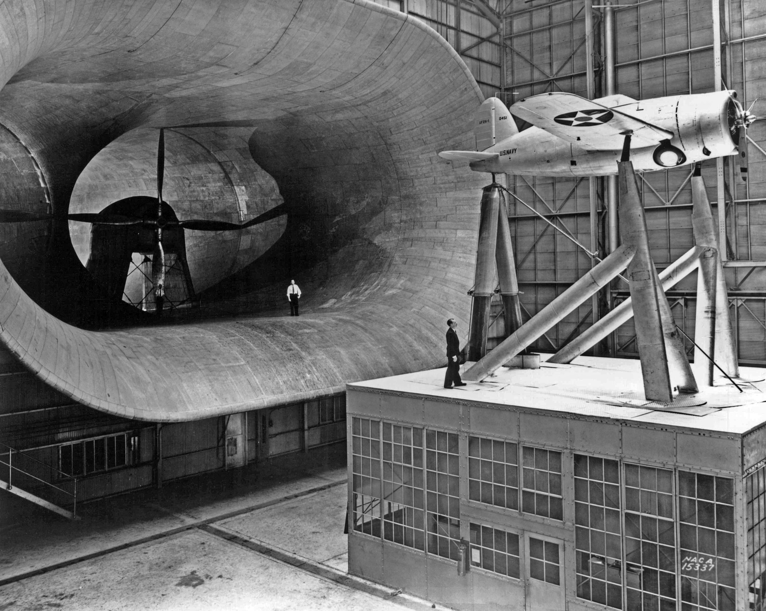 Full Scale Wind Tunnel