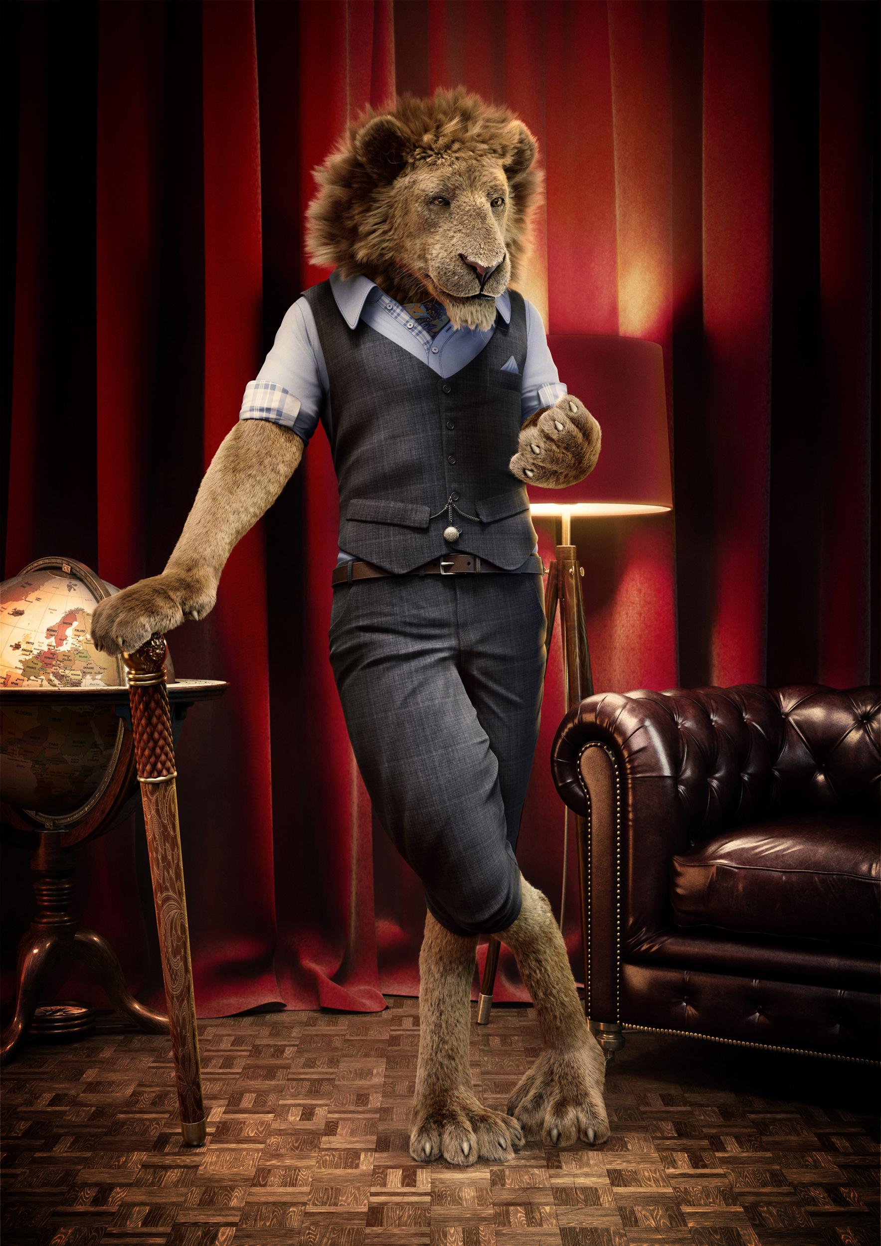 gentry-lion