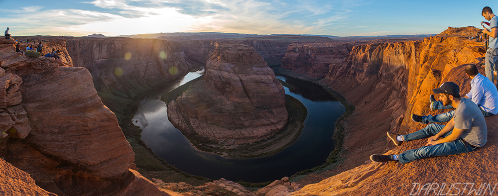 horseshoe bend pano