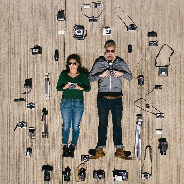 Screen caps from #flatlaychallenge ft @octopossum @mrsbunnysworth @justinnygren @dentonamc . . . #drone #wddi #layflat #lacie #cameras #books #shirts #denton #mavic #contest #photography #photooftheday #artists #friends #creative