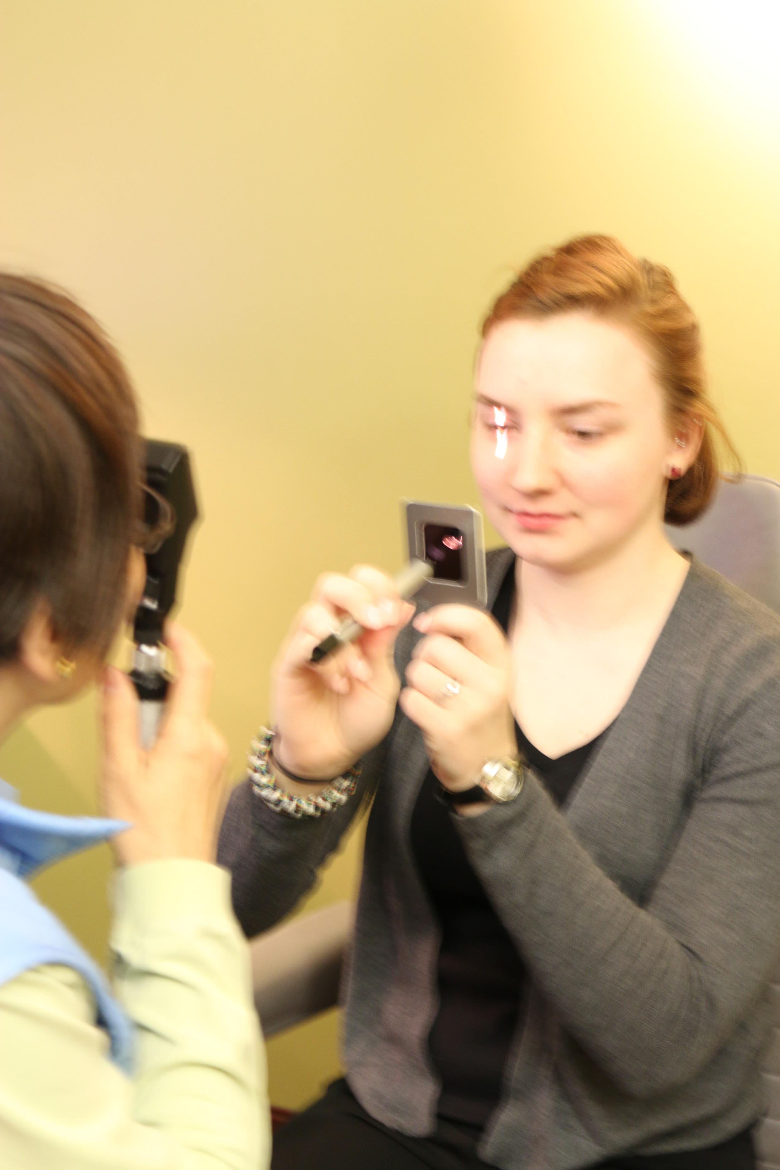Retinoscopy Testing