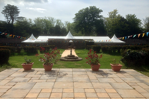 Walled garden with wedding marquee.png