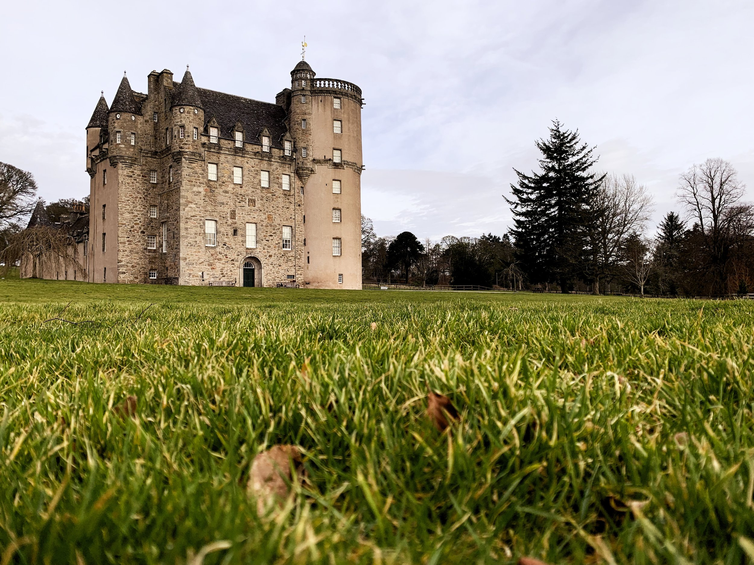 Castle Fraser Exterior