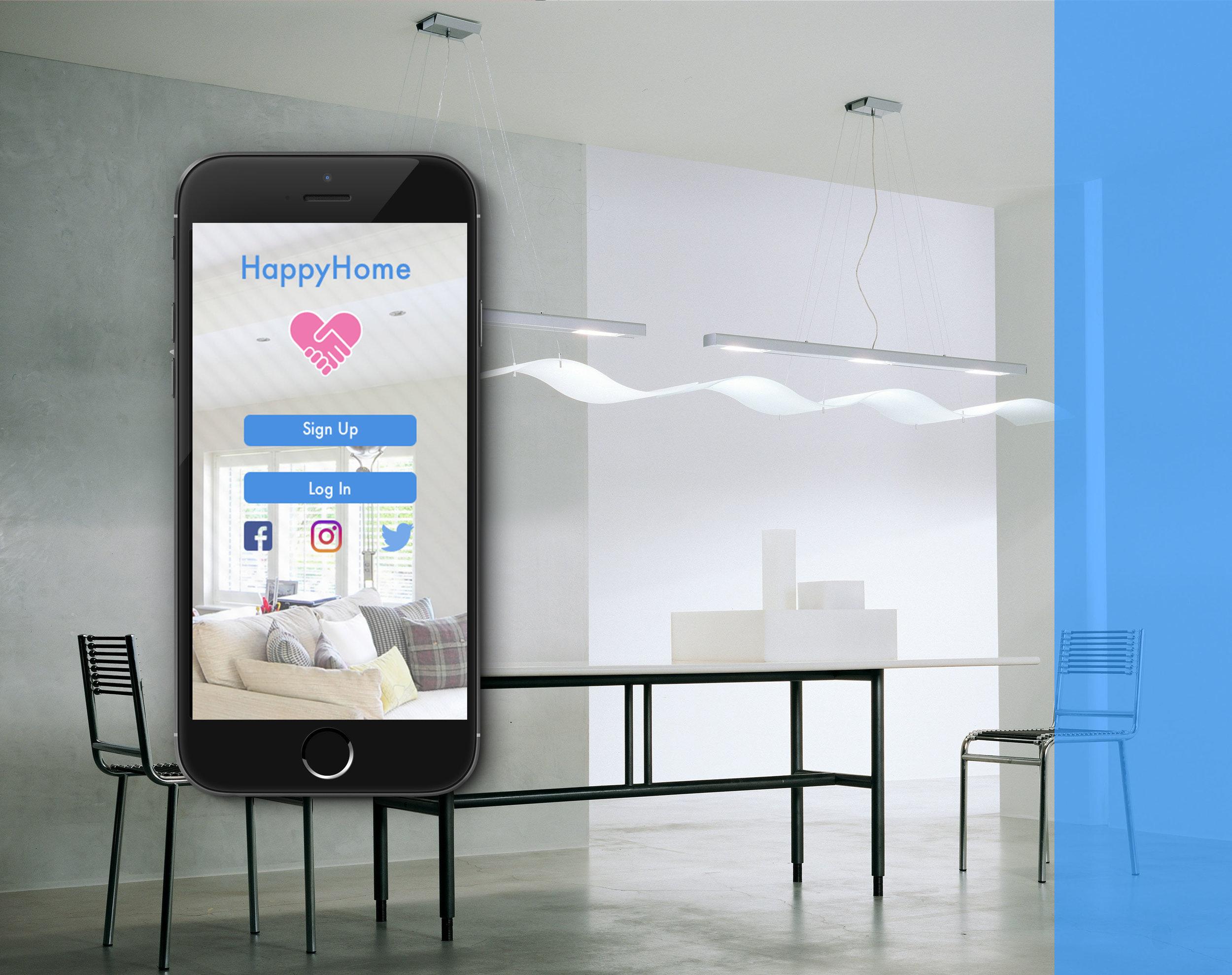 HappyHome - App prototype