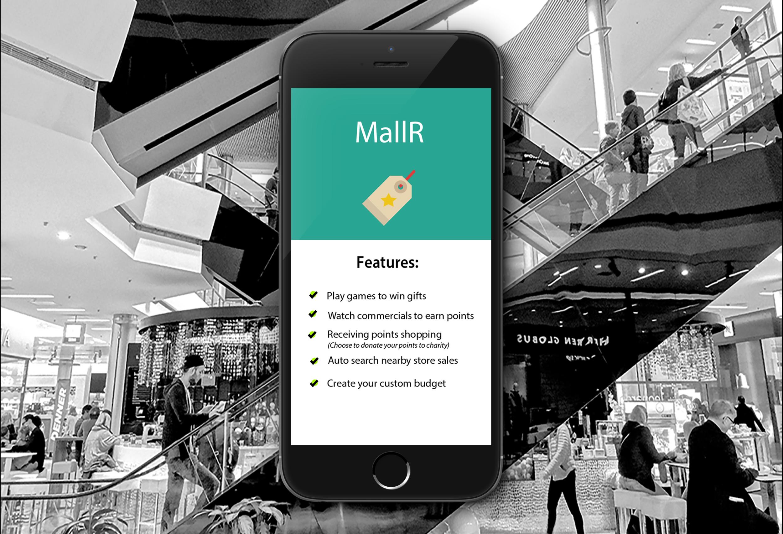 MallR - App Design