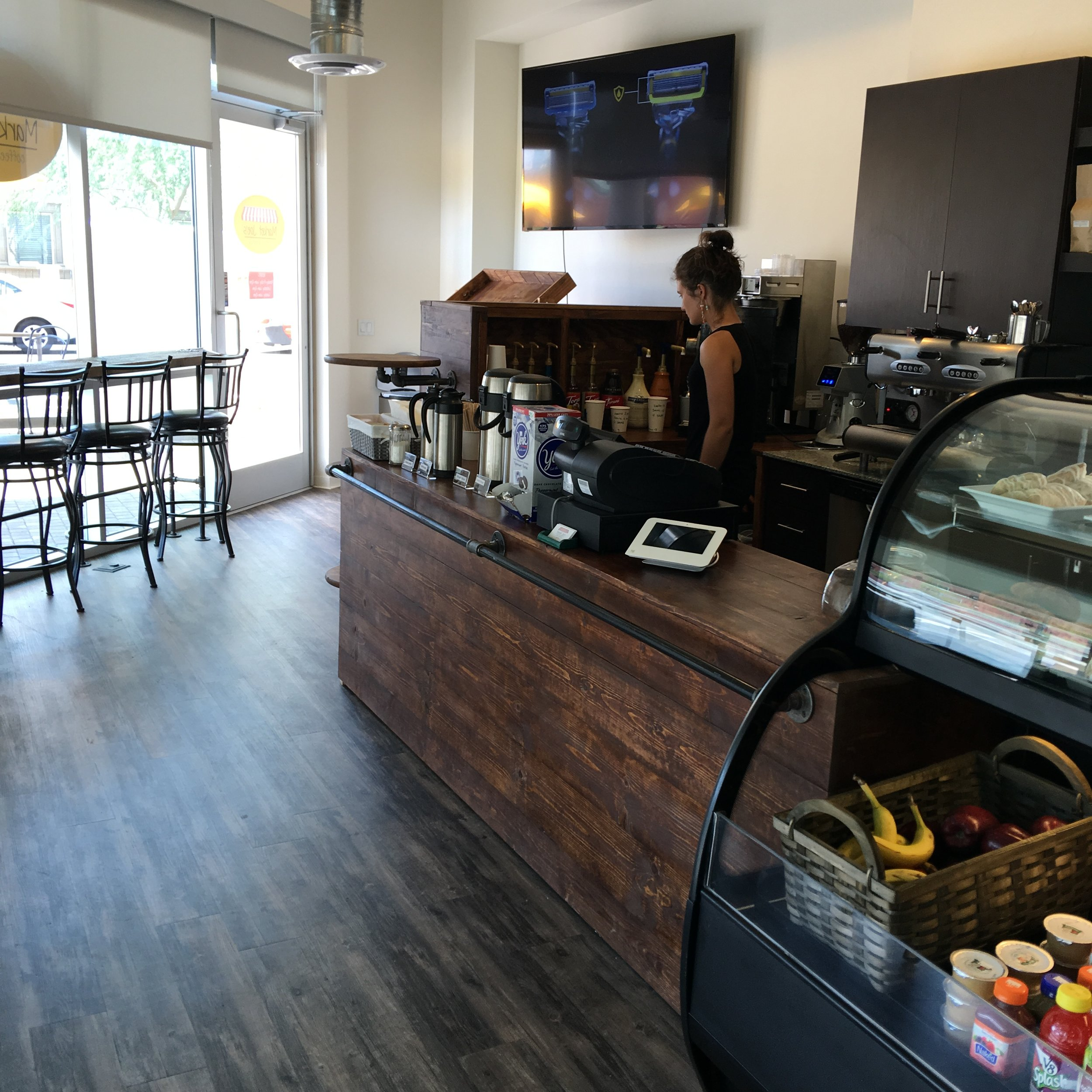 Urban Market & Coffee Shop Retail Store Fixtures