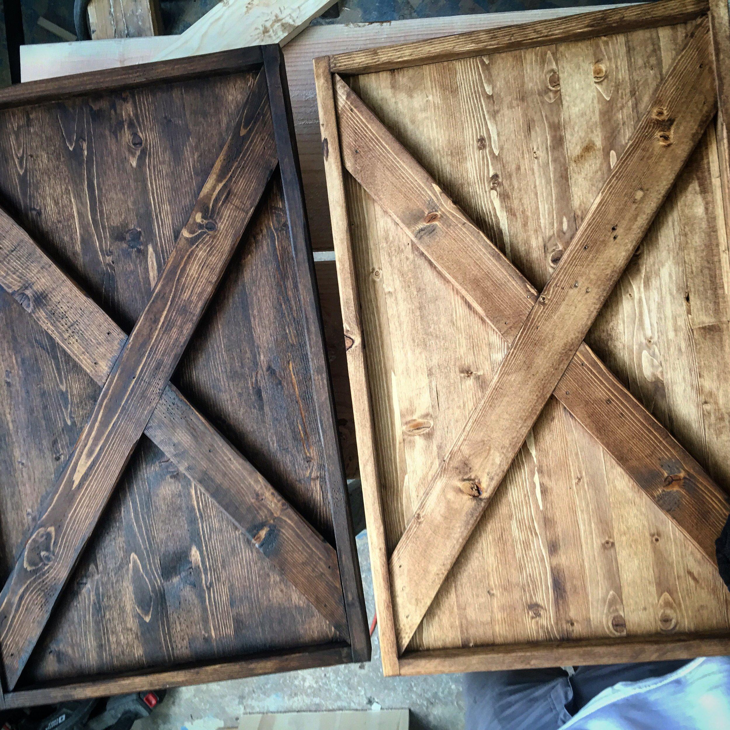 X Barn Doors