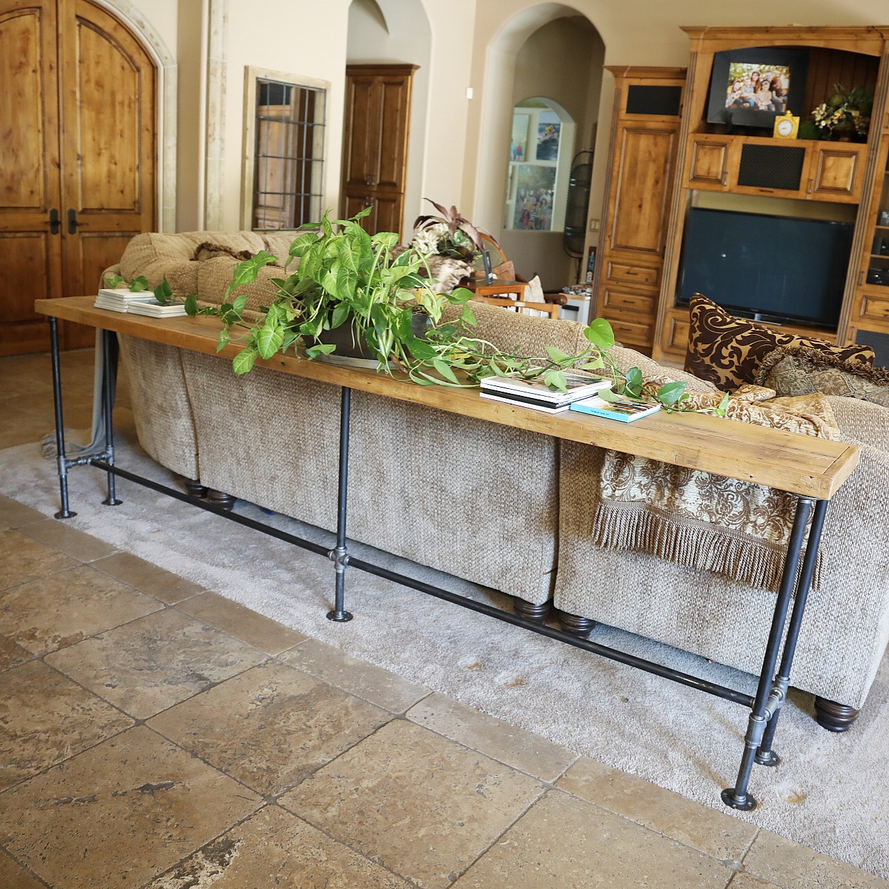 Albert Console Table Reclaimed Wood