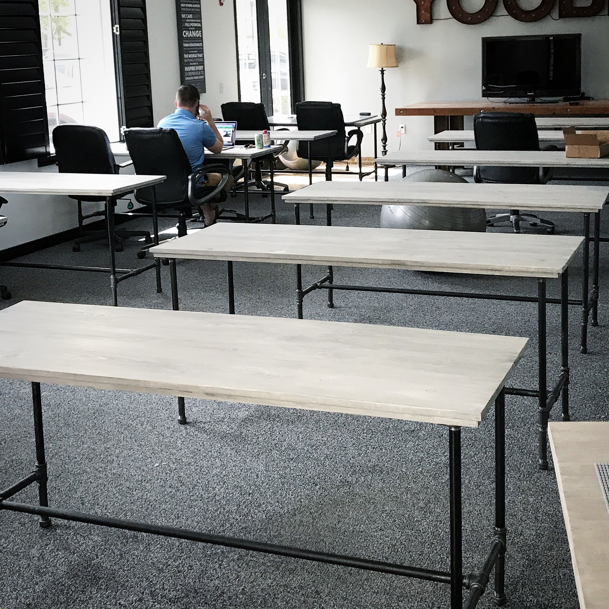 Wayne Desks in Office Grouping